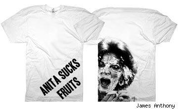 Anita Sucks Fruit shirt